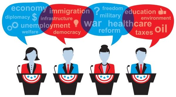 4 Politicians Debating