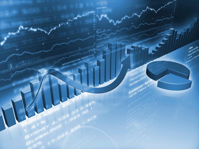 finance fintech stock charts